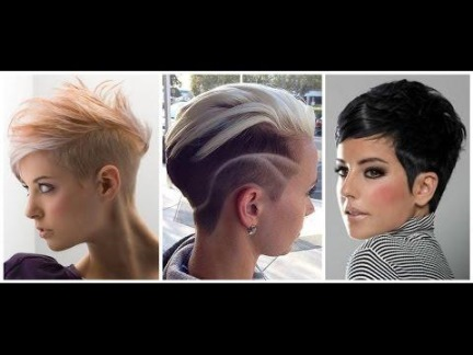 mode kurzhaarfrisuren 2018