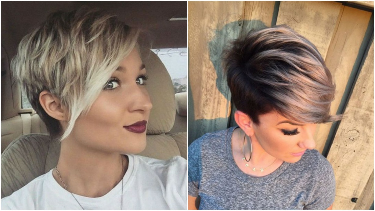 frisuren kurz 2018 mode damen