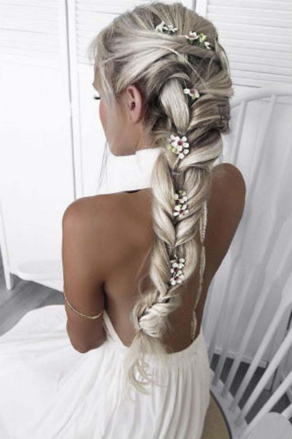 natte lange haare frisuyr