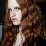 rot haarfarbe fur langhaarfrisuren trends